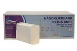 Billede af Håndklædeark Pristine Extra soft Z fold 2 lag nyfiber 20.3x24x8 cm,20 pk x 200 Stk/krt