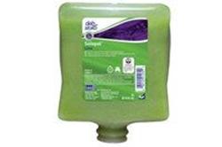 Picture of Håndrens Solopol Lime Wash til Cleanse Heavy 2000 dispensere 2 ltr grøn,4 fl x 2 Ltr/krt