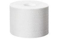 Billede af Toiletpapir Tork mid-size T7 2 lag hvid 113 m 900 ark uden hylse,1 x 36 Rl/krt