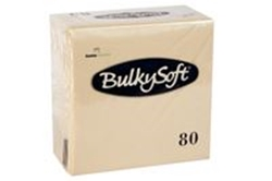 Picture of Serviet BulkySoft 33x33 cm 3-lag Buttermilk,20 pk x 80 Stk/krt