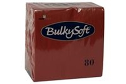 Picture of Serviet BulkySoft 33x33 cm 3-lag Bordeaux,20 pk x 80 Stk/krt