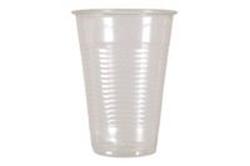 Picture of Plastglas Catersourc 40 cl klar med riller PP højde 126 mm dia.93 mm,50 stk/ps