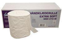 Billede af Håndklæderulle Pristine Extra soft 1 lag nyfiber 270 meter uden hylse,6 Rl/krt