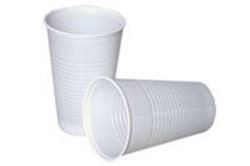 Billede af Drikkebæger hvid 21 cl højde 98 mm PS,100 Stk/ps