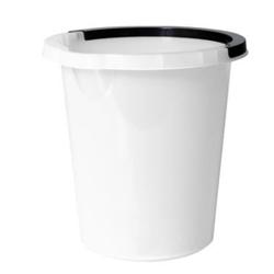 Billede af Spand 5 ltr rund med hank hvid,5 stk/ps