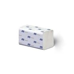 Billede af Håndklædeark Tork Xpress premium H2 multifold 2 lag soft 4 fold. 34x21.2 cm.,21 pk. x 110 Stk/krt