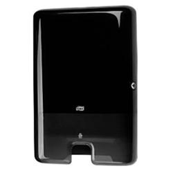 Billede af Dispenser håndklædeark Tork Xpress multifold H2 stor Sort plast,1 Stk/krt