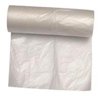 Picture of Spandepose med fals kompakt 30 ltr 500x600 mm 7 my HDPE klar,50 stk/rl