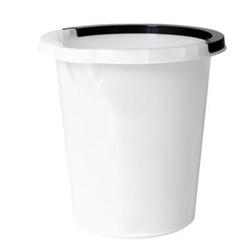 Billede af Spand 5 ltr rund med hank hvid,5 stk/krt