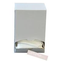 Billede af Tandstik plast hvid enkeltpakket i neutral klar/hvid folie i displayæske,400 Stk/pk